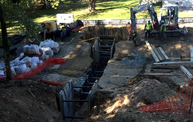 Baltimore Gas and Electric, Baltimore, MD Multiple steel gas main replacement projects 2014-2015